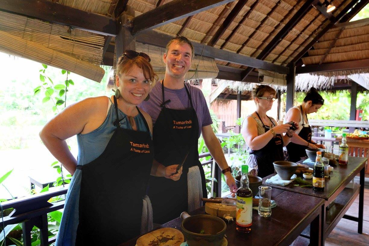 Laos cooking classes - a gentle introduction to the food and flavors of Laos
