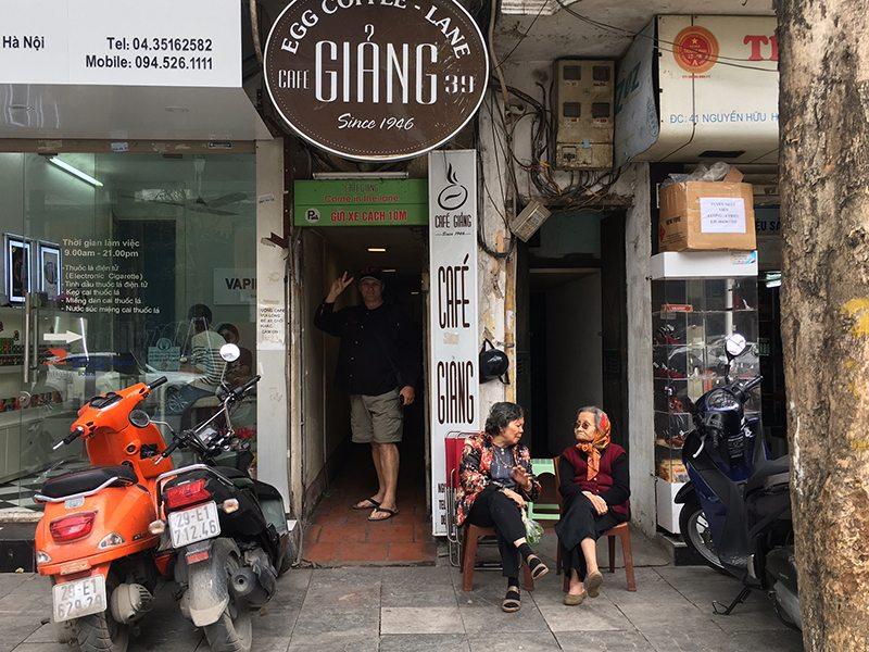 Giang coffee in Hanoi