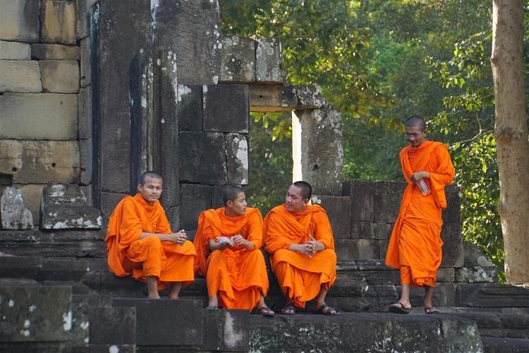 monks of Cambodia