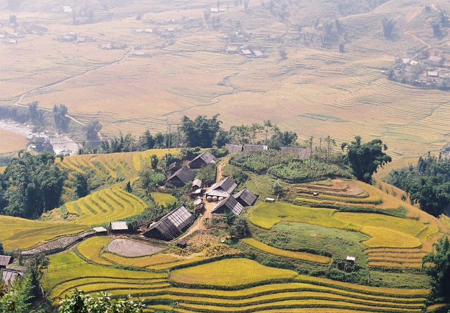 view from Fansipan in Sapa tour packages