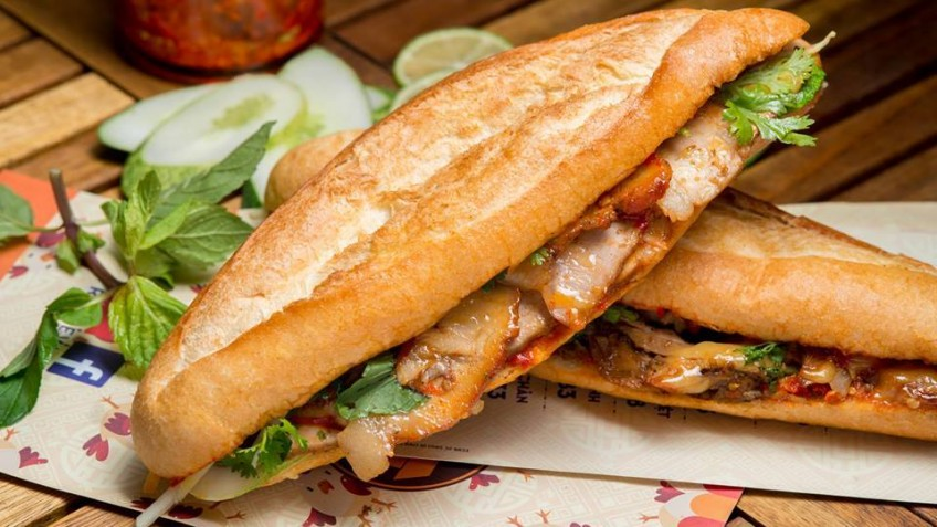 Banh my is recommended by chef Gordon Ramsay as a must-try specialty in Vietnam