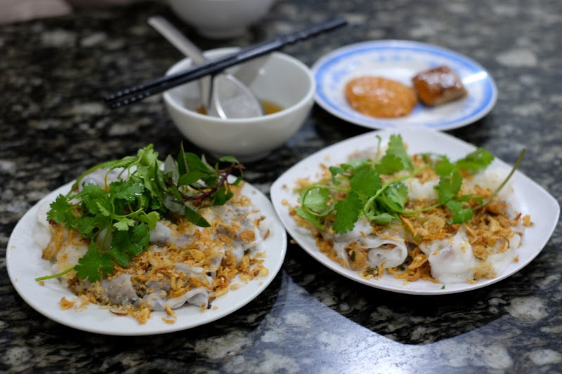 Light and fresh, banhcuon is a great option for breakfast