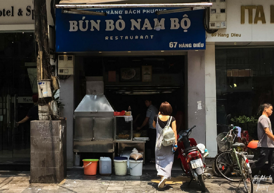 Place to enjoy Bun Bo Nam Bo