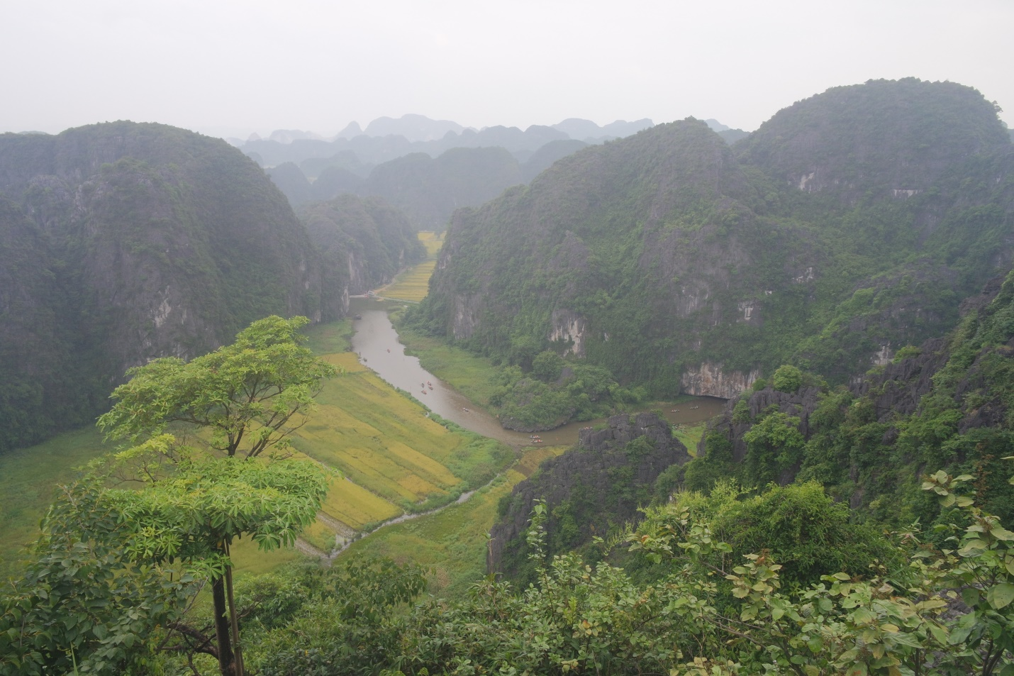 Tam Coc – Dancing Cave to make up a day in Ninh Binh