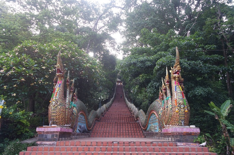 Steps to Doi Suthep