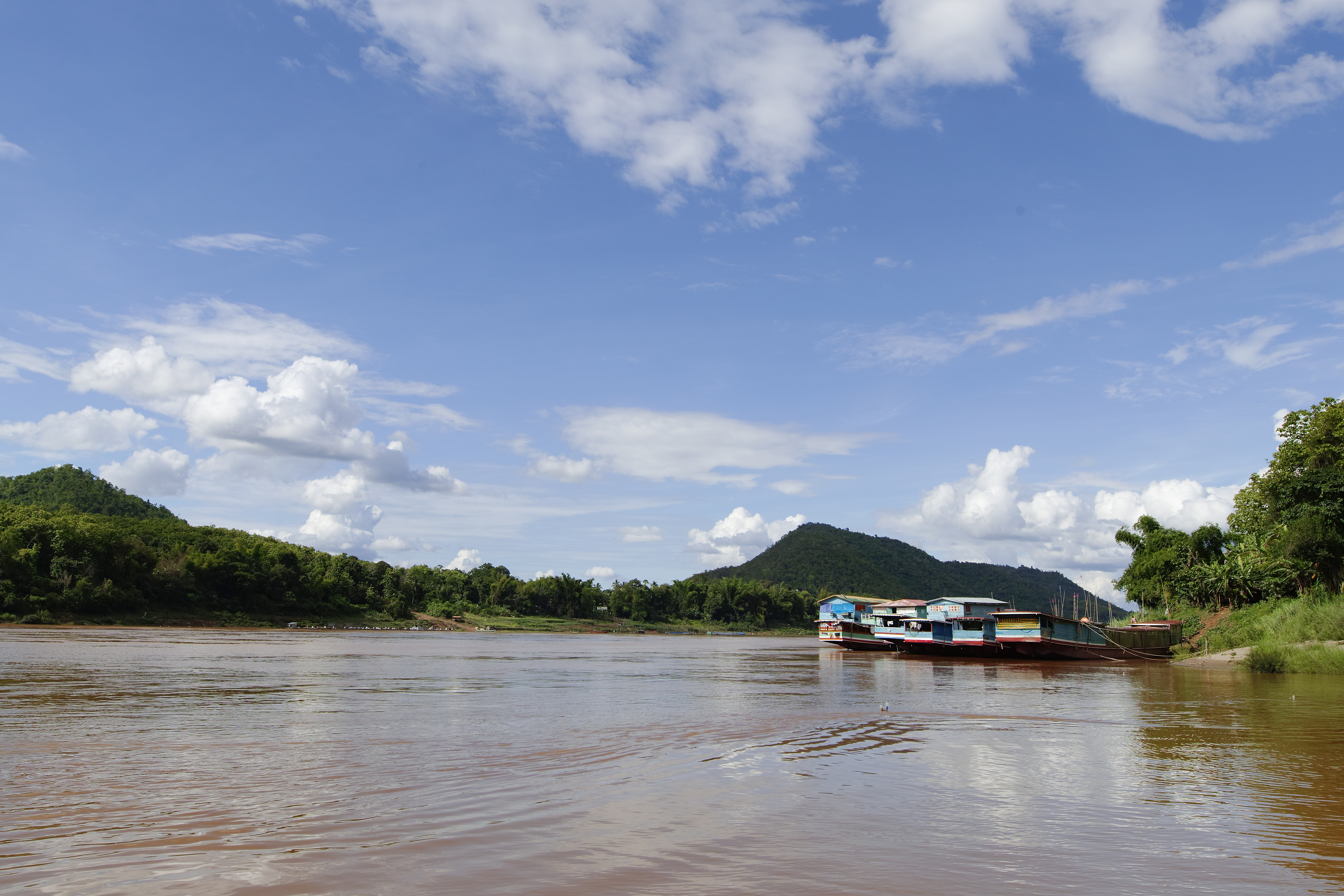 Take the cruise along the Mekong