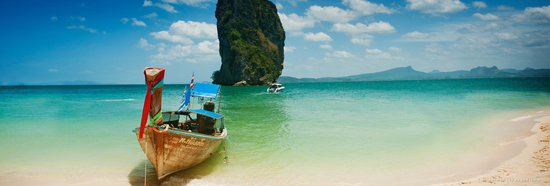 Immerse yourself among bustling cities and sleepy beaches of Thailand