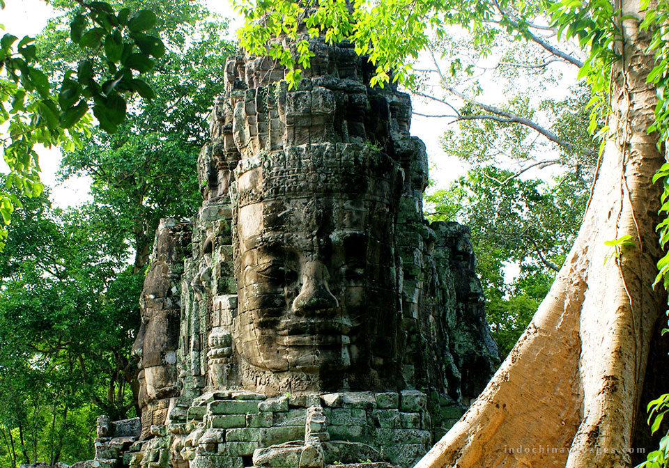 visit the sunrise at Angkor Area