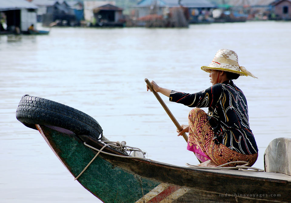 the Tonle Sap lake