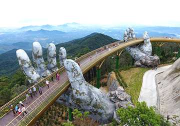 Golden bridge – must-visit attraction in Vietnam