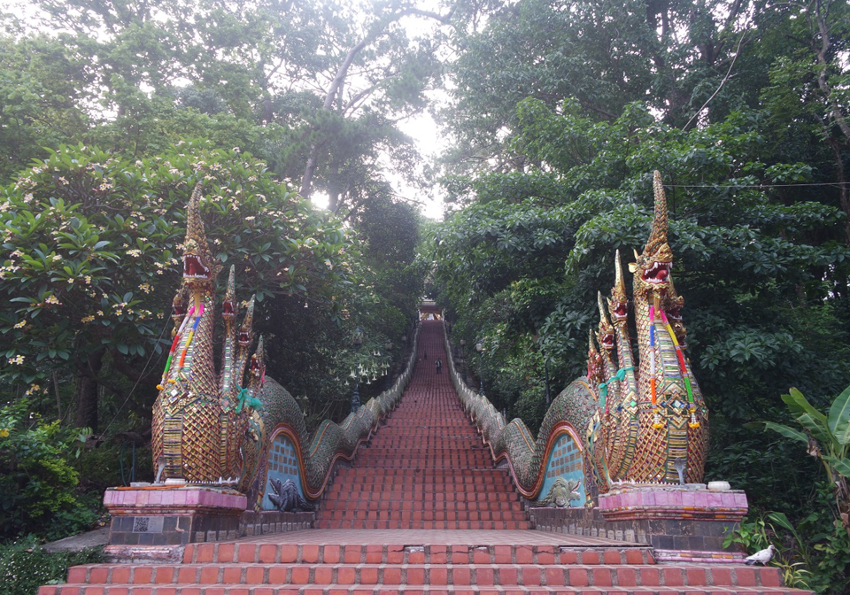 Steps to Soi Suthep