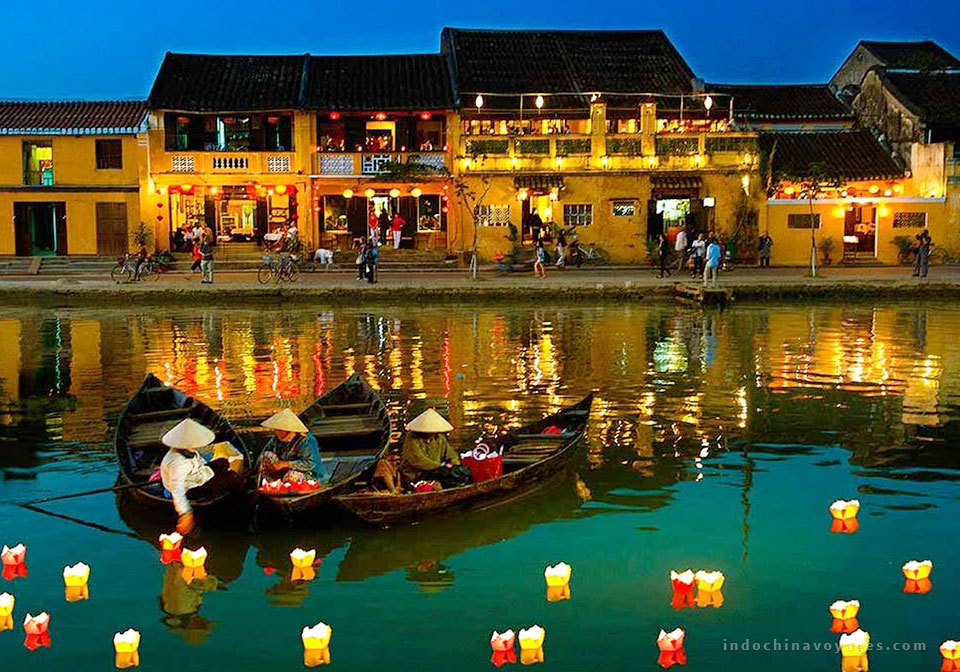 The colorful lanterns in Hoi An