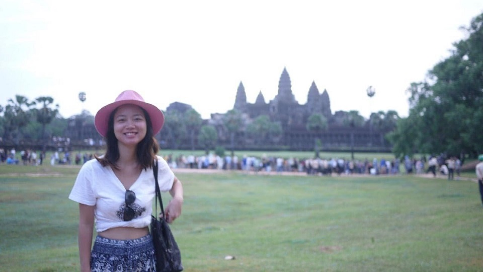 Angkor Wat in the early morning
