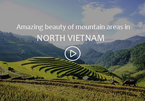 North mountain in Vietnam video