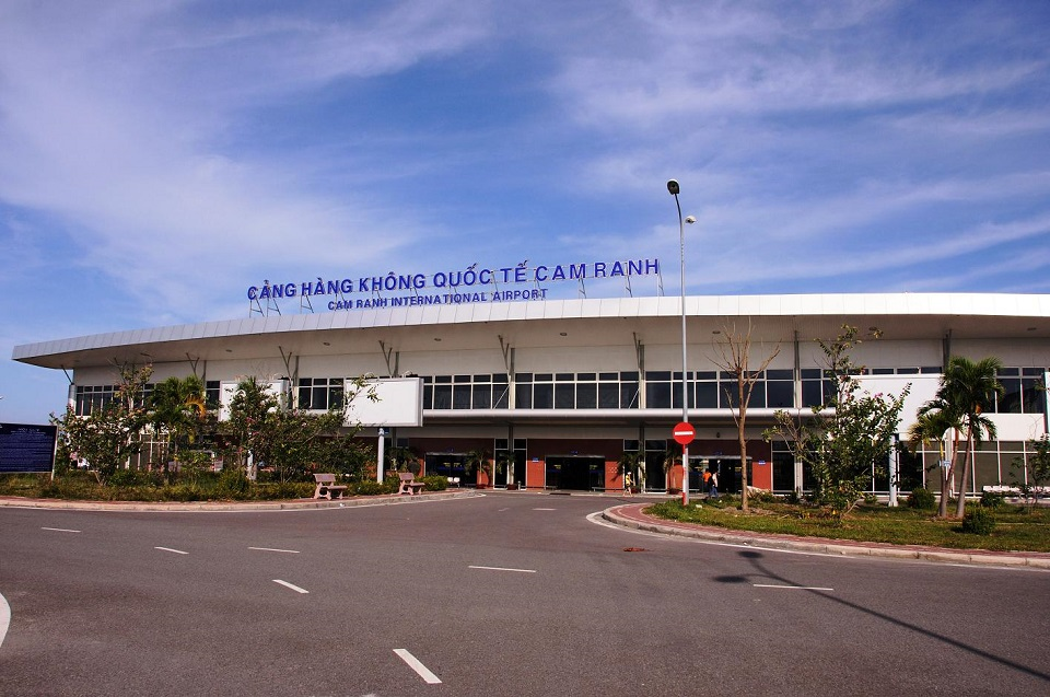 Arriving at Cam Ranh international airport in Nha Trang