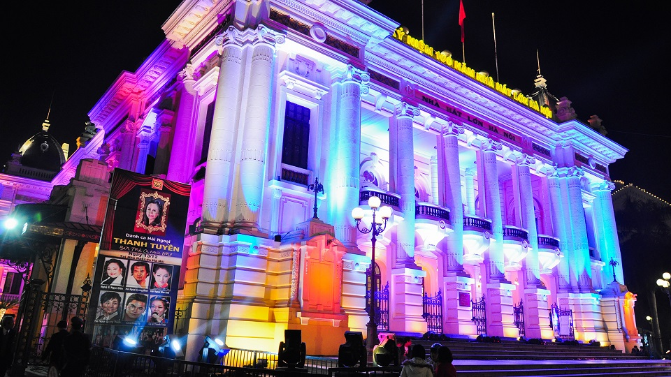 Attend a fantastic music show of many genres at Hanoi Opera House