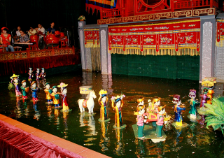 Water Puppet show – the uniqueness of North Vietnam Tours