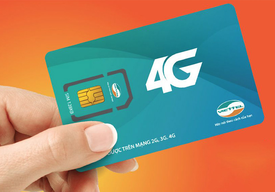 Viettel SIM card