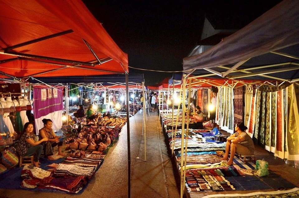Night Market in Luang Prabang