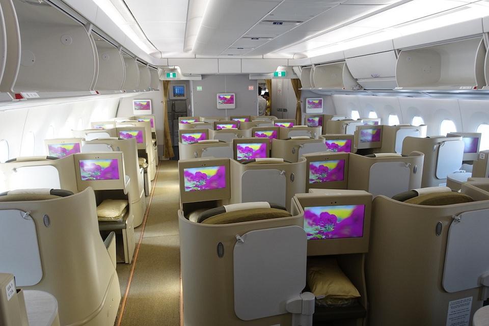 vietnam airlines cabin