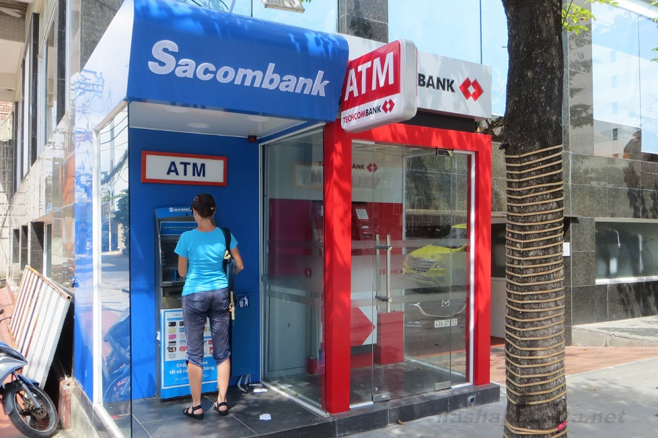 ATMs in Vietnam