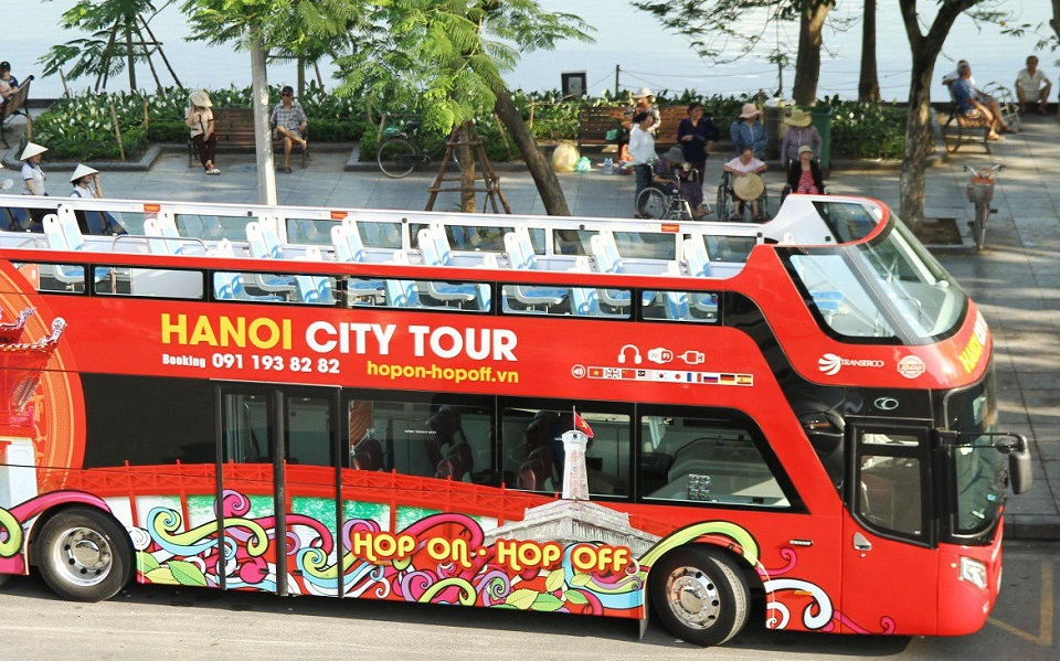 Hanoi City tour Hop on – Hop off