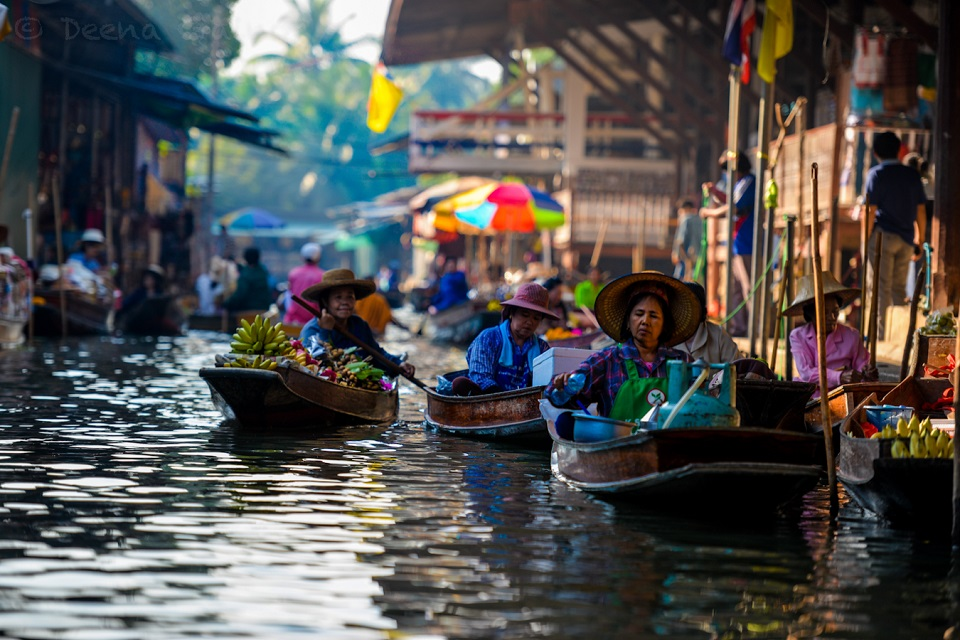 Thailand floating markets – top 5 lovely places to visit