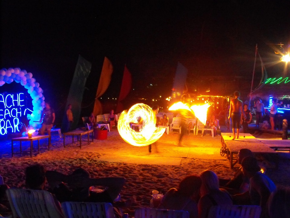 Bars on Phi Phi Island