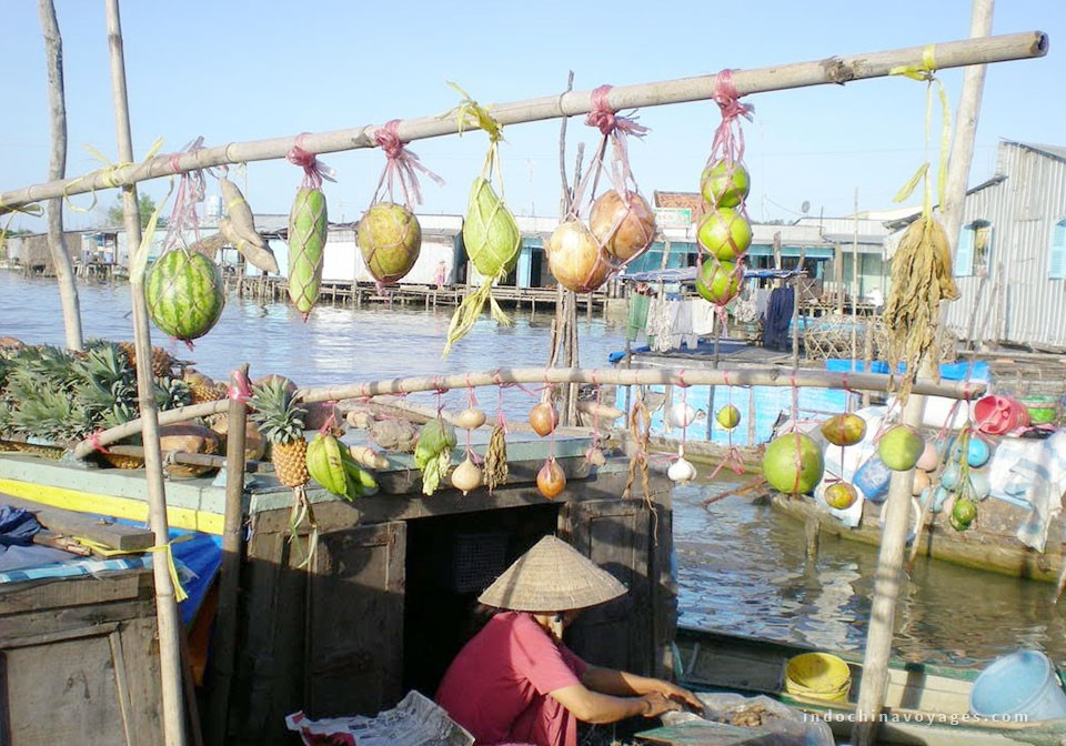 Mekong Delta floating markets