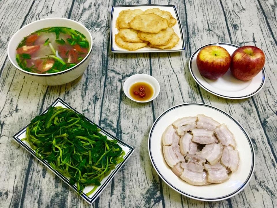 Vietnamese meal