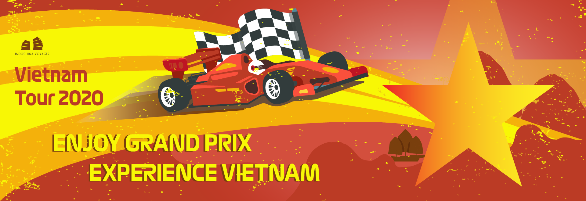 Best travel experiences with Vietnam tours before/after Vietnam Grand Prix