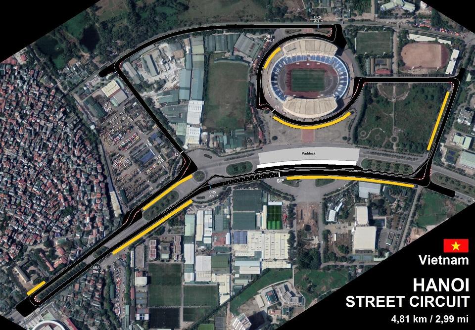 Hanoi street circuit