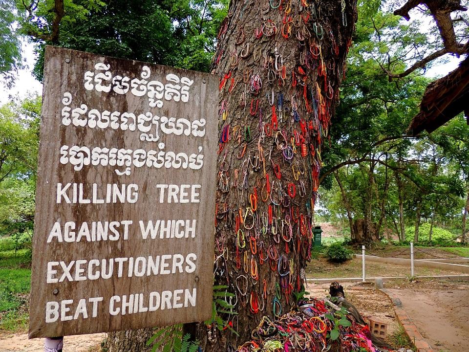 The Choeung Ek killing tree