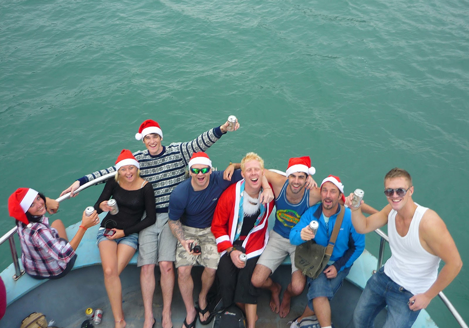 Christmas in Halong Bay cruise