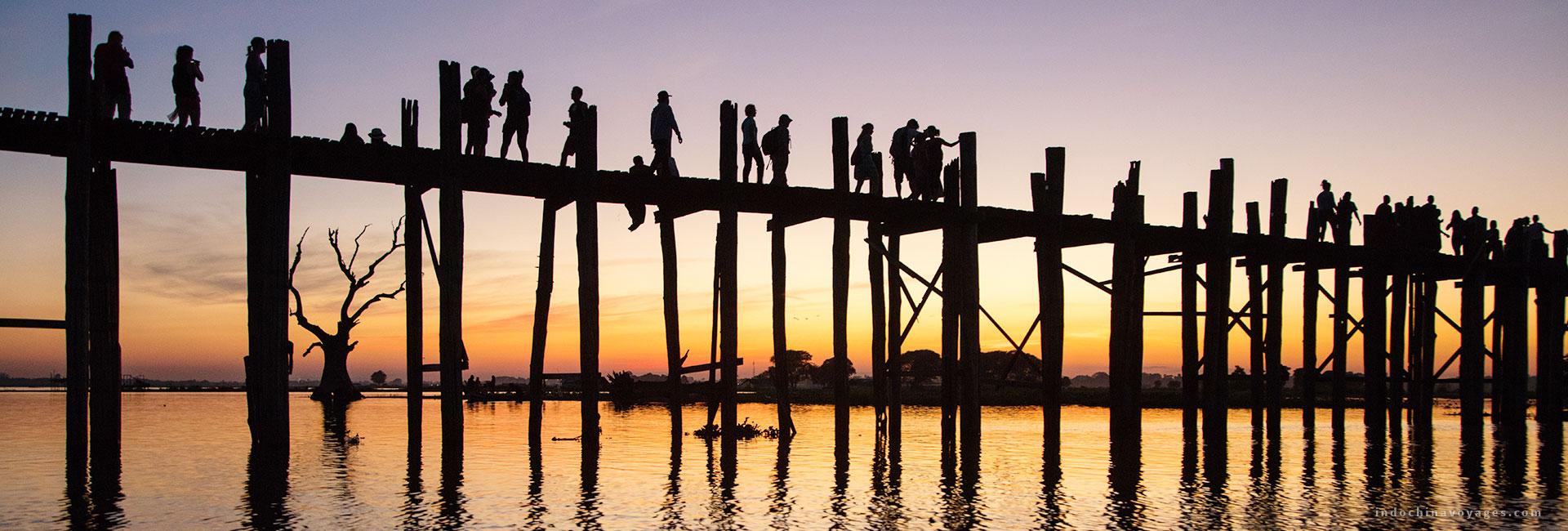 U Bein bridge – The symbol of Myanmar