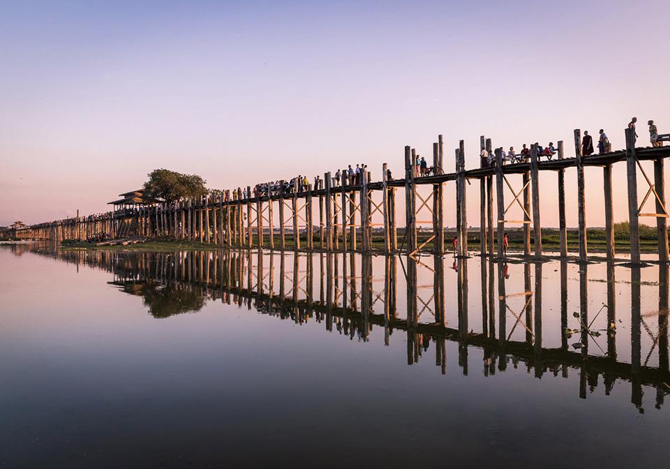 How long is U Bein bridge