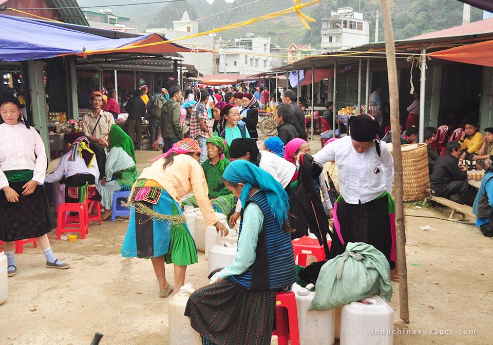 Dong Van Sunday Market