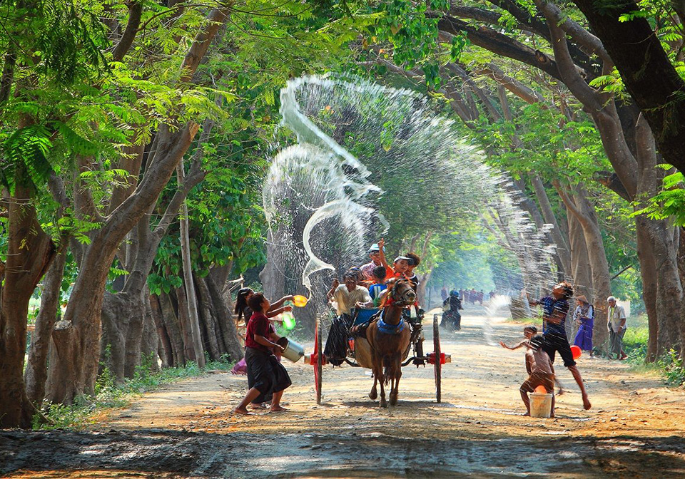 water festivals in Indochina countries