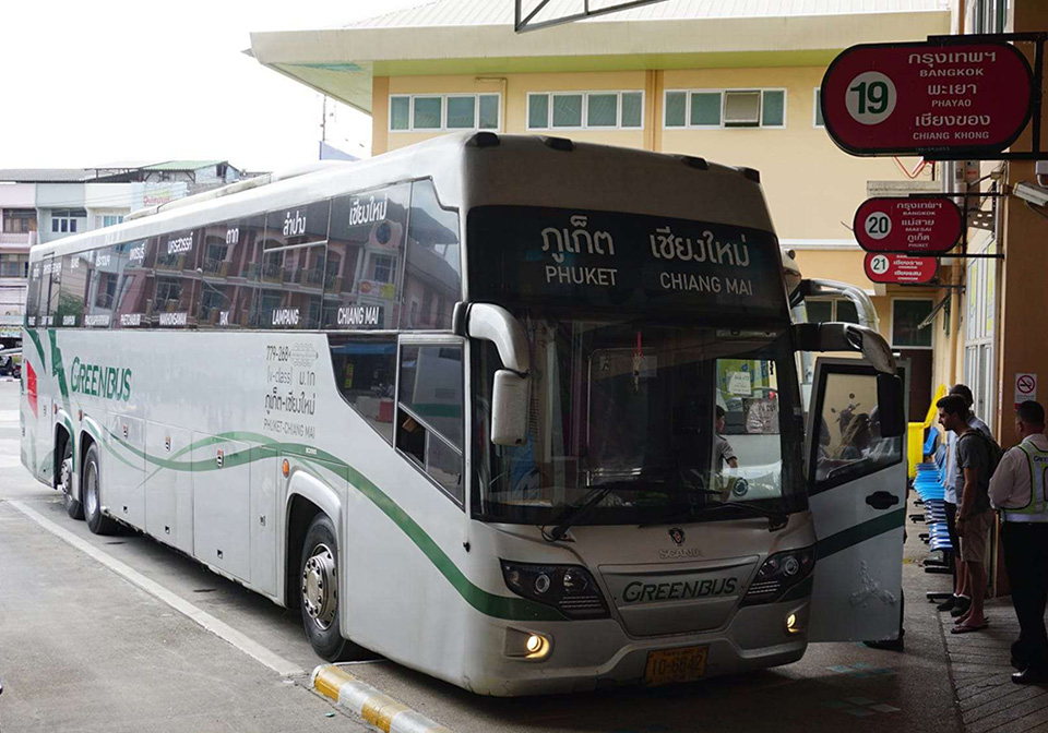 Green Bus – from Chiang Mai to Phuket