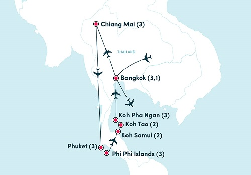 How to travel from Chiang Mai to Phuket?