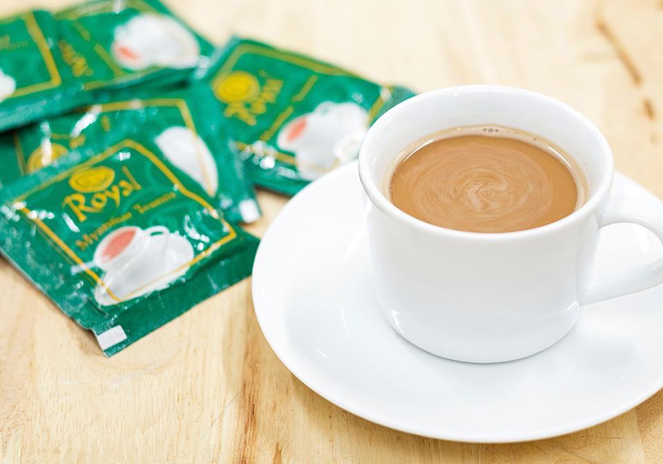 Tea mix in Myanmar