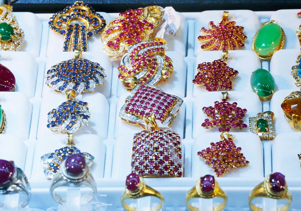 Jewelry in Myanmar