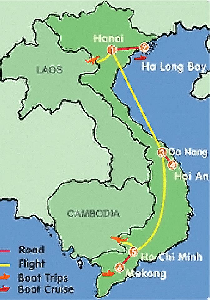 A glance at Vietnam